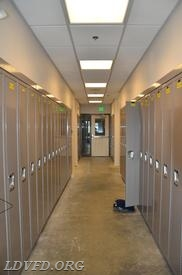 Hallway with Lockers