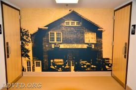 Wall Mural of Original Station